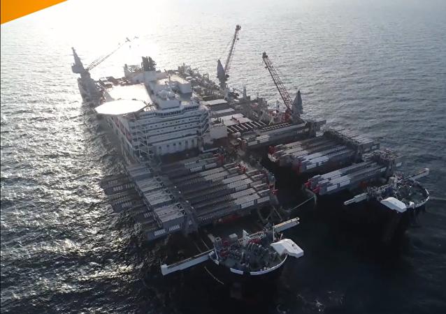Stavba Tureckého proudu v Černém moři byla dokončena na ruském území