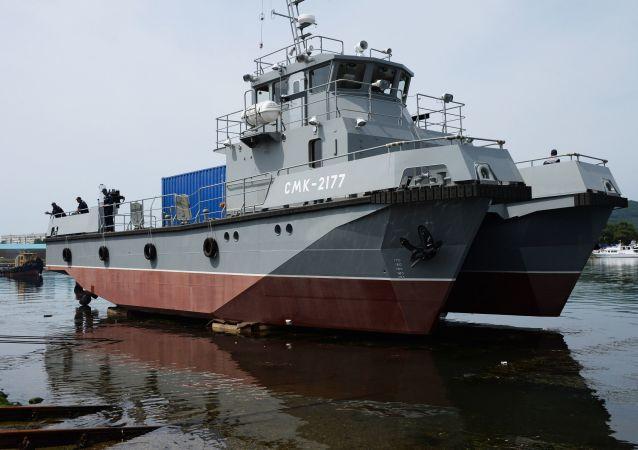 Potápěčská loď nové generace SMK-2177