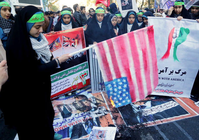 Protiamerické sankce v  Íránu