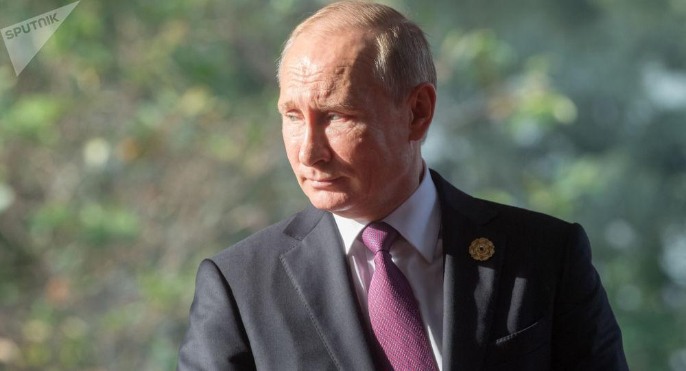 Ruský prezident Vlaimir Putin