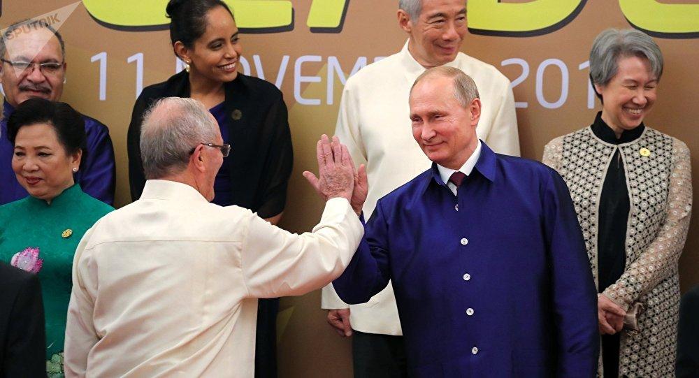 Návštěva prezident RF Vladimira Putina ve Vietnamu