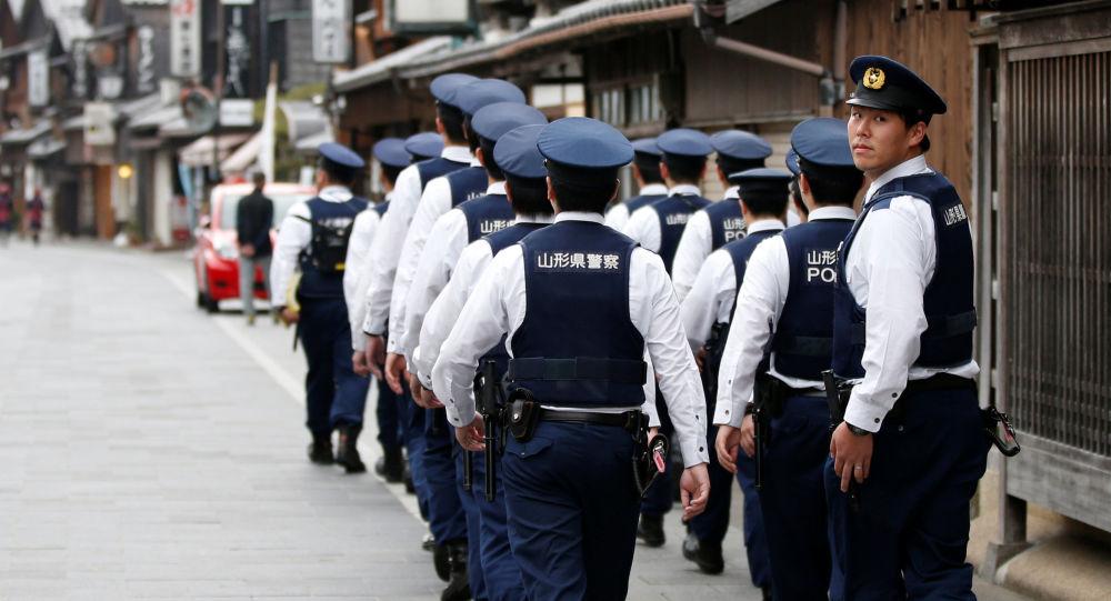 Japonští policisté