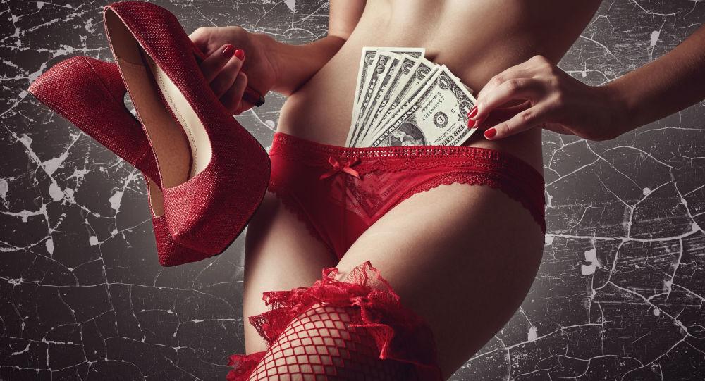Striptérka. Ilustrační foto
