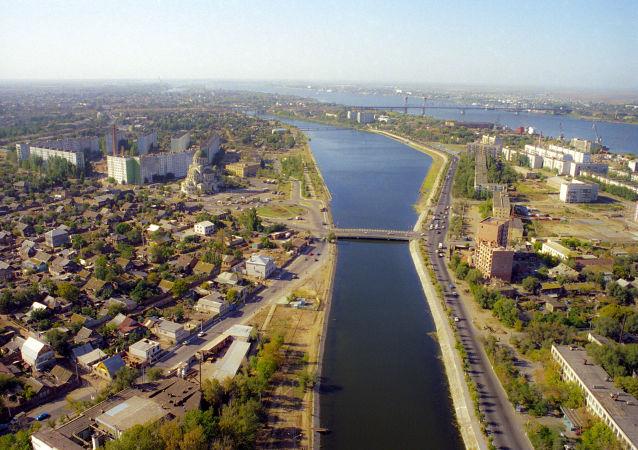 Pohled na Astrachaň