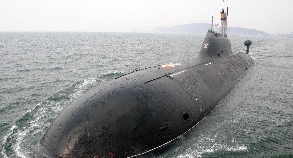 Ponorka К-152 Něrpa, kterou si koupila Indie