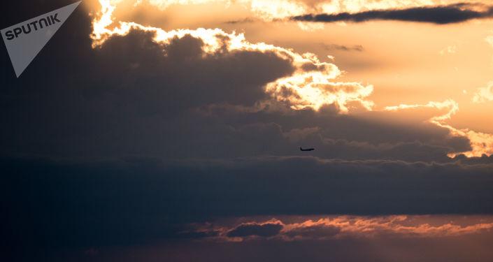 Letadlo v nebi