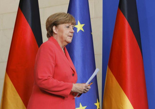 Německá kancléřka Angela Merkelová. Ilustrační foto