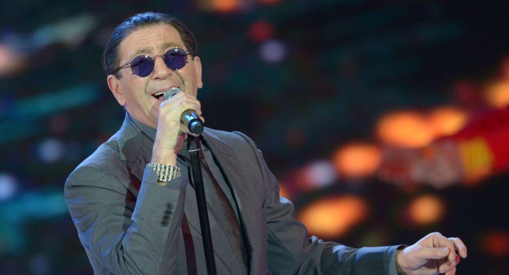Ruský zpěvák Grigorij Leps