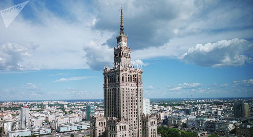 Palác vědy a kultury ve Varšavě