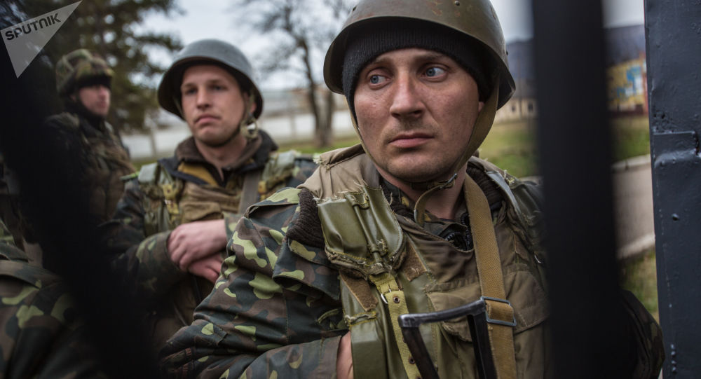 Ukrajinští vojáci na základně. Ilustrační foto