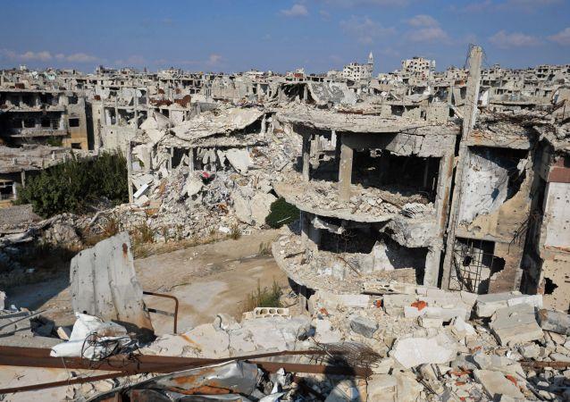 Syrské město Homs