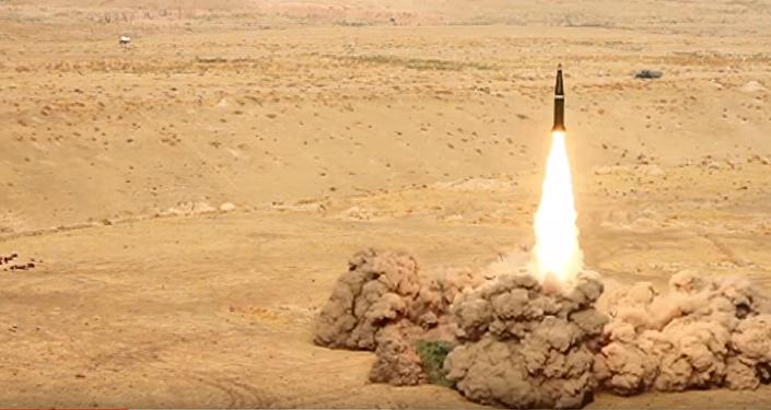 Objevilo se video startu nové zlepšené rakety Iskander-M