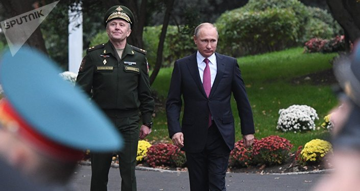 Ruský prezident Vladimir Putin na Jaltě