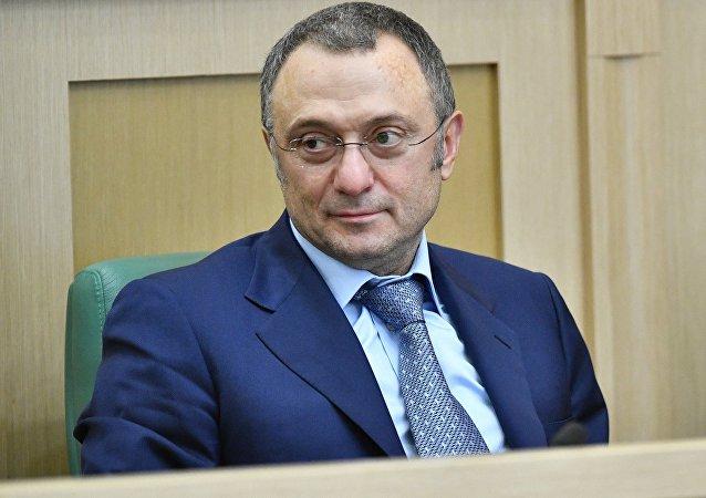 Ruský senátor Sulejman Kerimov