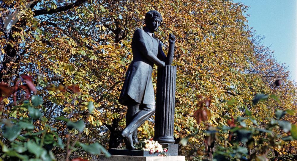 Puškinův pomník v Moldávsku