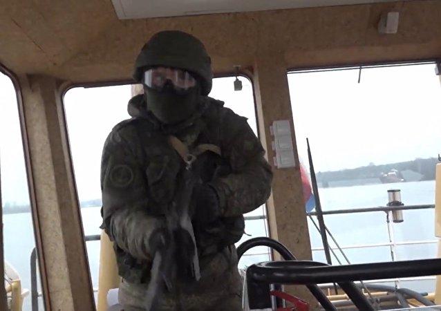 Cvičení námořní pěchoty