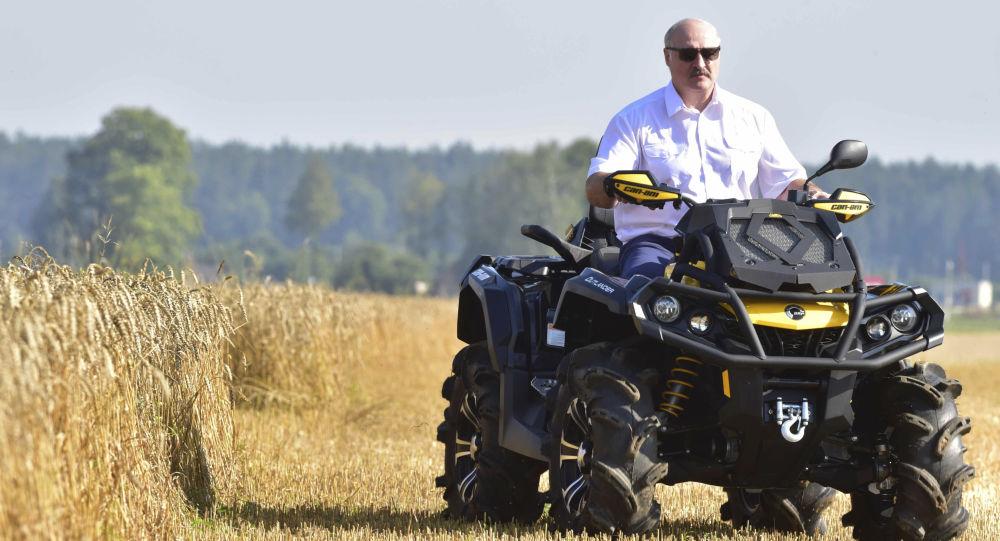 Běloruský prezident Alexandr Lukašenko. Ilustrační foto