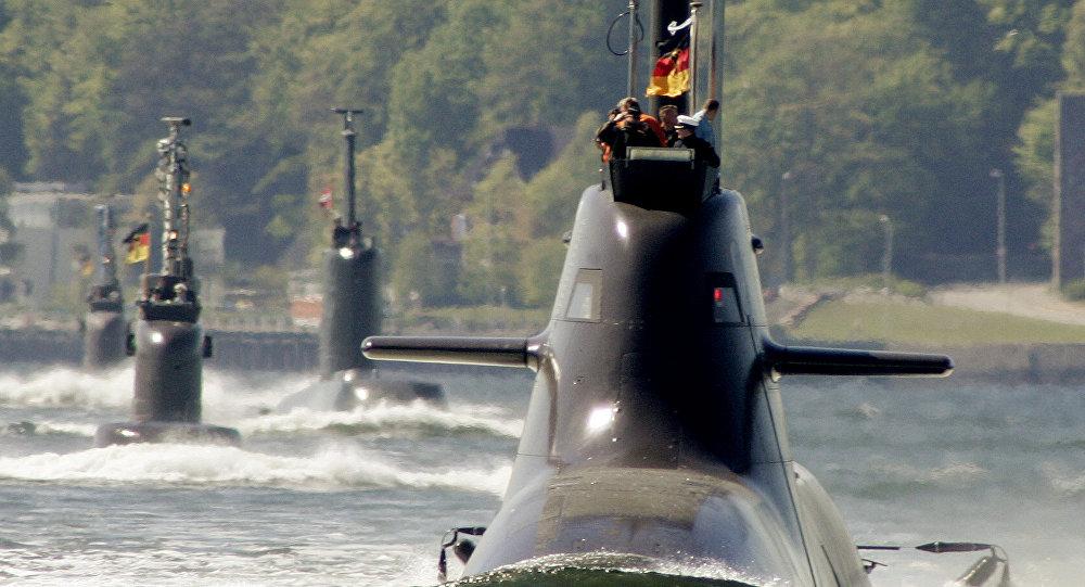 Ponorky německého námořnictva. Ilustrační foto