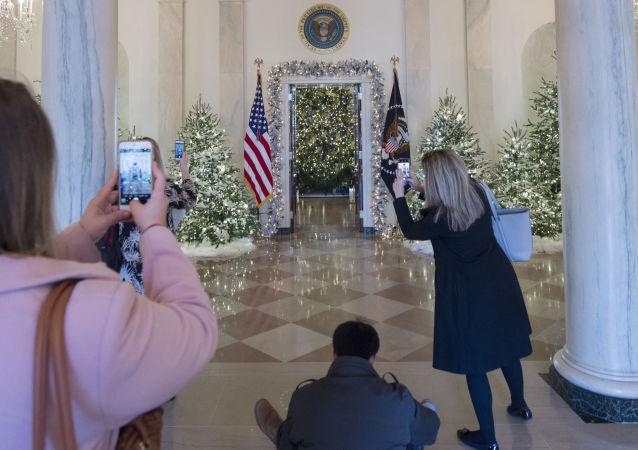 Vánoční výzdoba Bílého domu