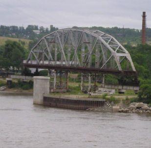 Most přes řeku Amur. Ilustrační foto
