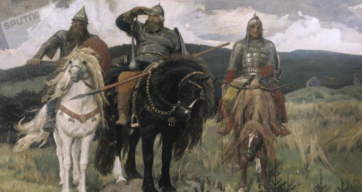 V.M.Vasněcov - Tři bohatýři