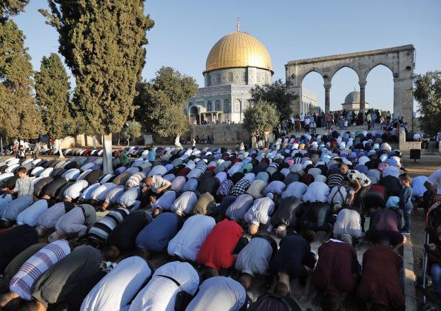 Palestinští muslimové v Jeruzalému