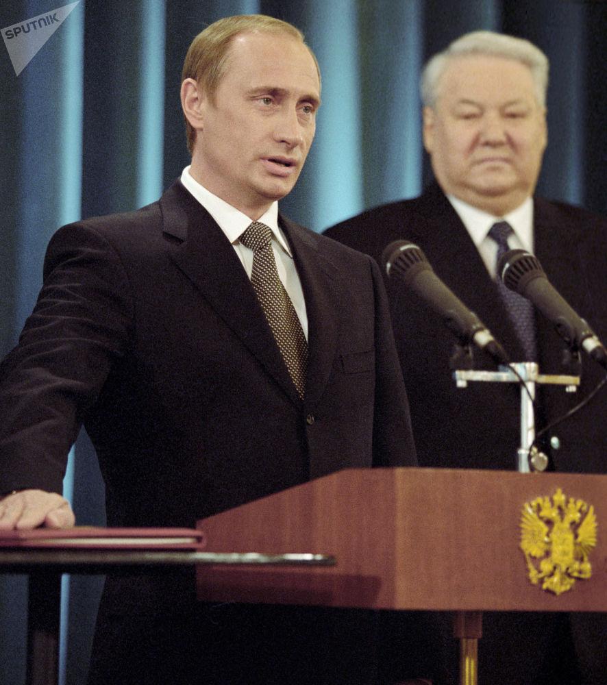 Tři prezidentská období Vladimira Putina