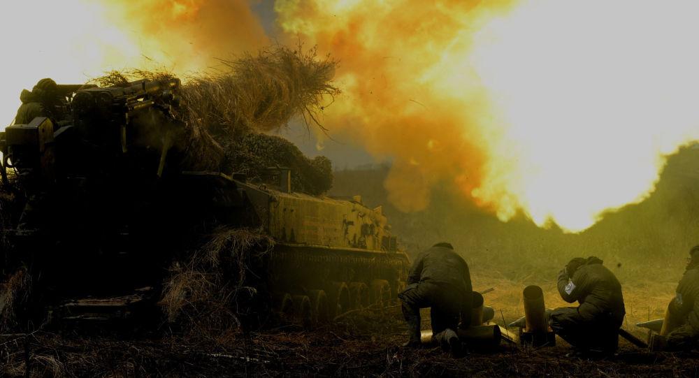 Cvičení Východního vojenského okruhu v Rusku