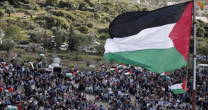 Palestinská vlajka