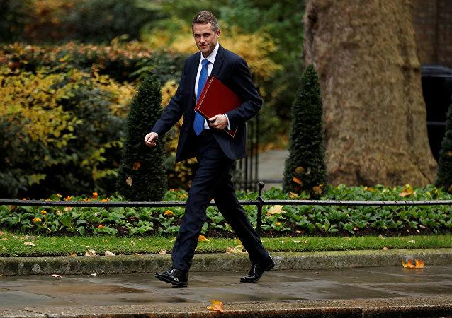 Britský ministr obrany Gavin Williamson
