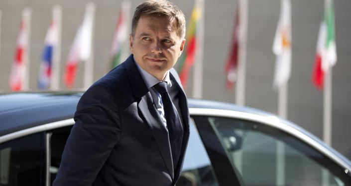 Slovenský ministr financí Peter Kažimír