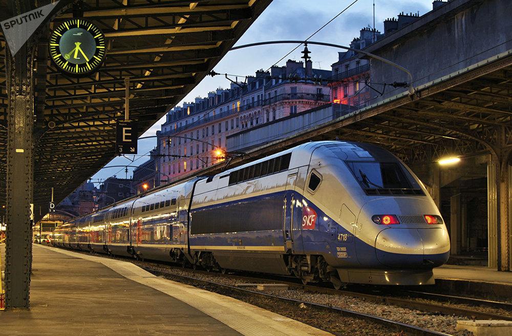 Vlakové nádraží v Paříži
