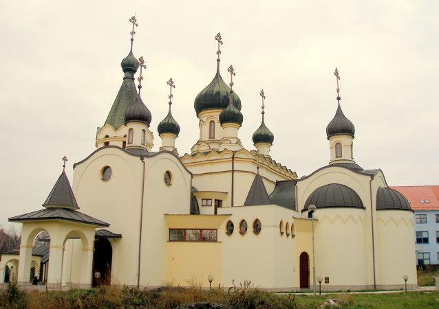 Pravoslavný katedrální chrám sv. knížete A. Něvského v Prešově