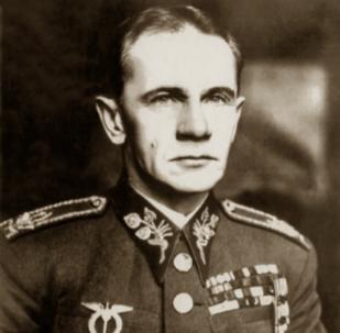 Ruský a československý velitel Sergej Vojcechovský