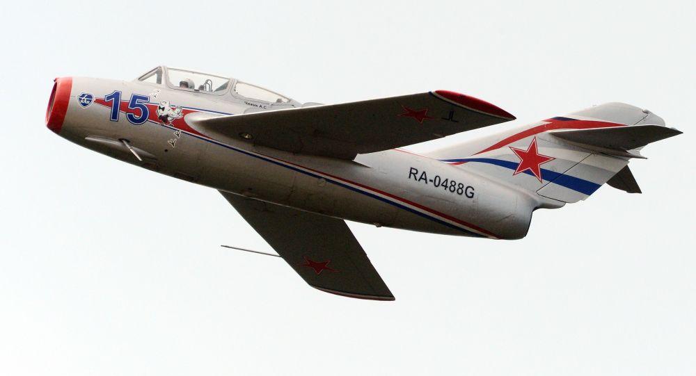 Sovětská stíhačka MiG-15