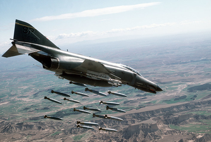 Americké letadlo F-4E Phantom II