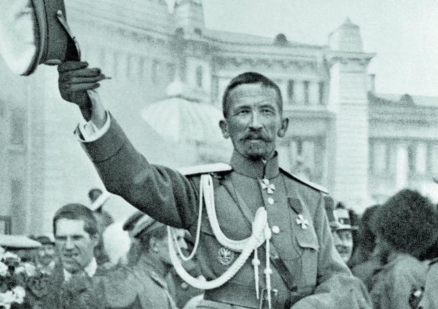 Ruský generál Lavr Kornilov
