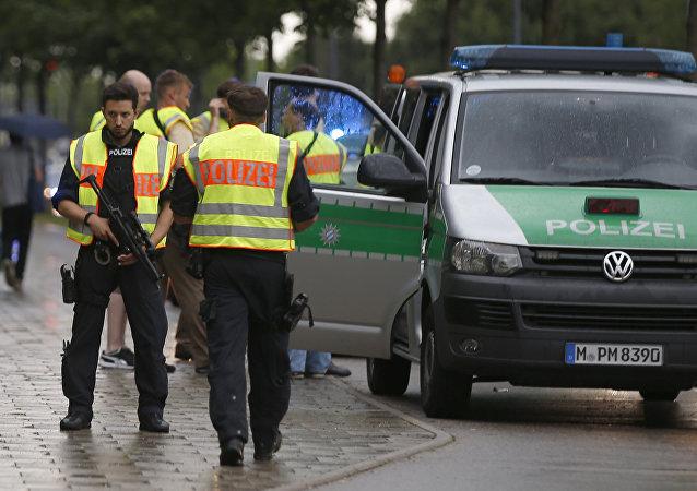 Německá policie. Archivní foto