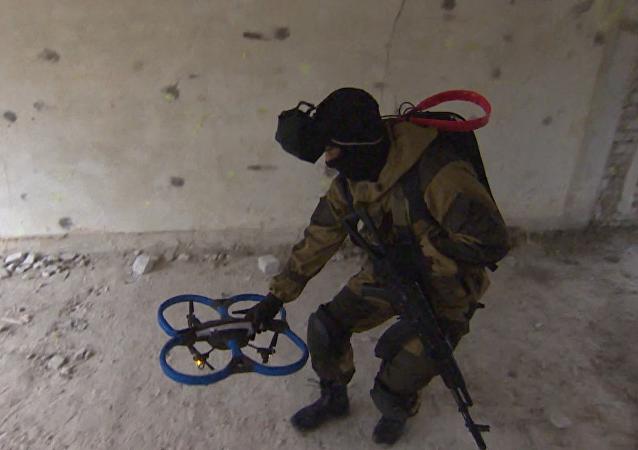 V Rusku vyzkoušeli nový dron řízený očním pohybem
