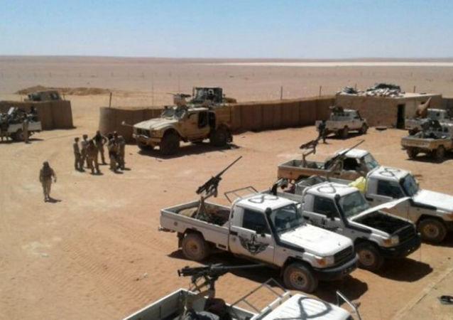 Americká základna v Al Tanfe