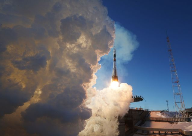 Start nosné rakety Sojuz-FG. Archivní foto