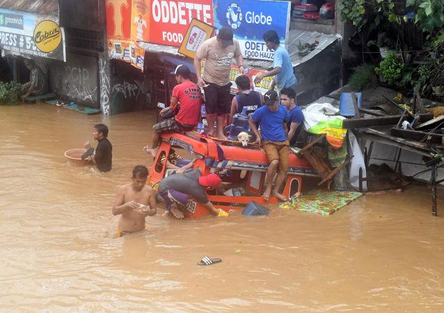 Povodně na Filipínách