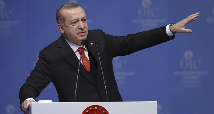 Turecký prezidet Recep Erdogan