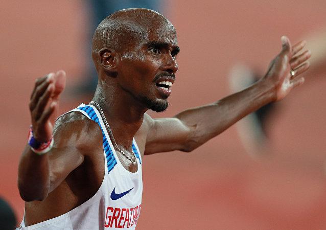 Britský běžec Mo Farah