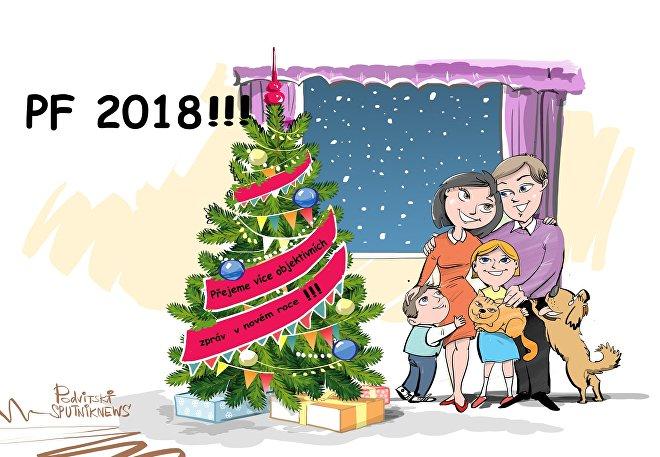 Přejeme všechno nejlepšího do nového roku!