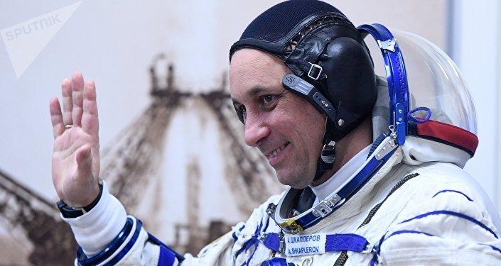 Ruský kosmonaut Anton Škaplerov