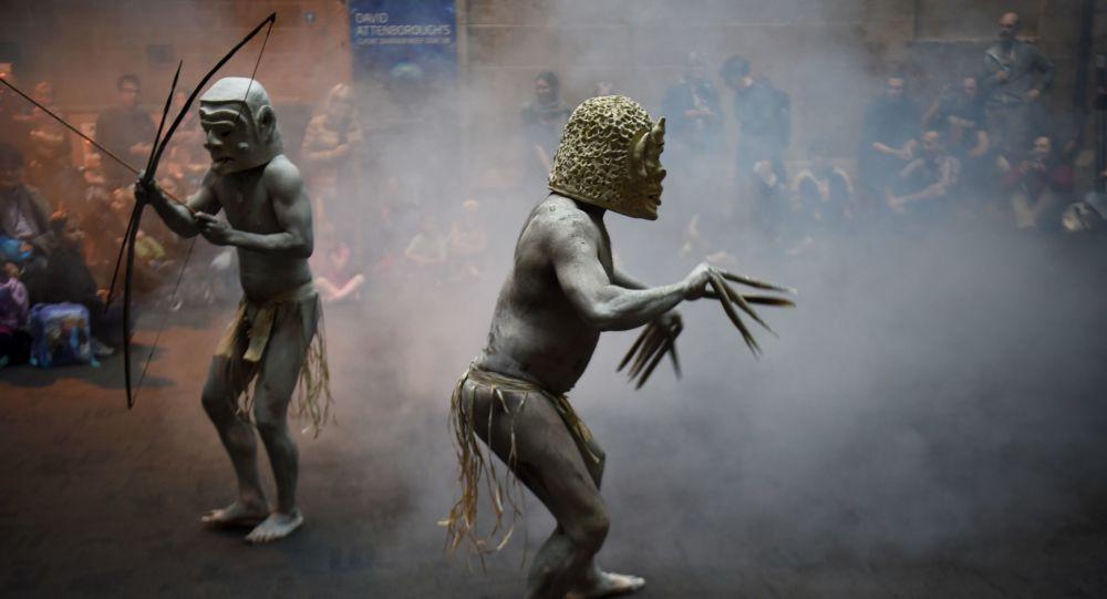 Papuánský národ Asaro