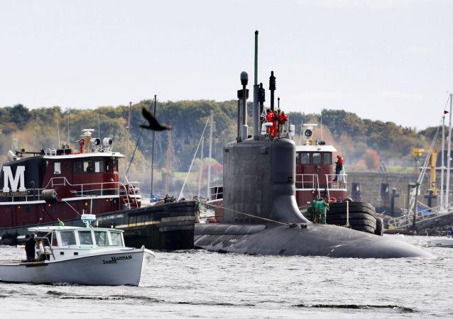 Americká ponorky třídy Virginie