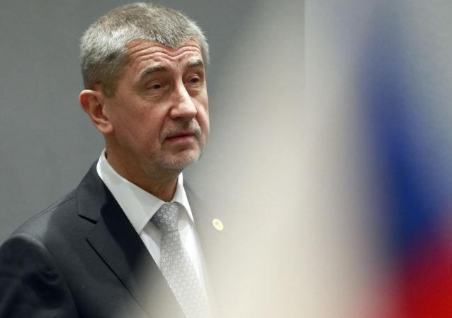 Премьер-министр Чехии Андрей Бабиш на встрече в Брюсселе
