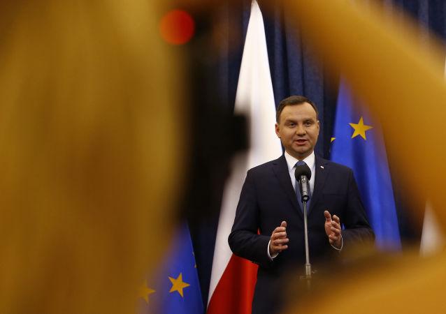 Polský prezident Andrzej Duda